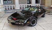 KITT from Knight Rider to display at your special event!