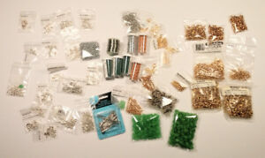 Jewelry Supplies - Gold & Silver plated - stainless steel