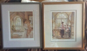 Trisha Romance matching signed and numbered prints