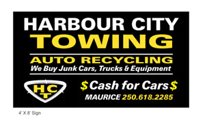 Harbour city auto recycling Nanaimo