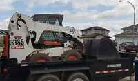 Bobcat, Hauling, Landscaping and other Services