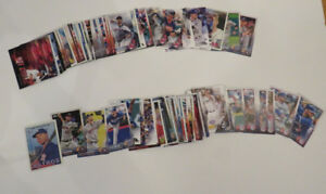 Baseball cards--set of 115--great for kids starting to collect