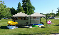 Part-Time Seasonal Staff Needed for Kayak Rental Kiosk (Orillia)