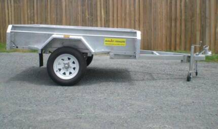 8X5 BOX TRAILER WELDED GALVANIZED TILT TRAILER FREE REGO Coopers Plains Brisbane South West Preview