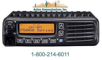 New Icom Ic-f5061-21 Vhf 136-174 Mhz 50 Watt 512 Channel Two Way Radio