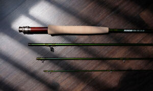 """Fly Fishing Rod 9ft - 4 - Piece - 6 Weight - Sage TCX   """"New"""""""