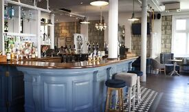 We're looking for a fun, outgoing bar staff and waiter/waitress to join our team