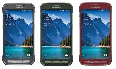 Samsung Galaxy S5 Active SM-G870A UNLOCKED AT&T 4G LTE Android Smartphone 16GB