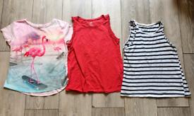 Girls H&M Summer Top Bundle - Age 8-9-10