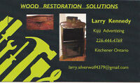 Wood Restoration Solutions  * No. 1  Craftsmanship  40 Years *