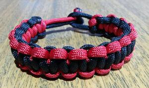 Outdoorsy's favourite accessory! Paracord Bracelets! - $13