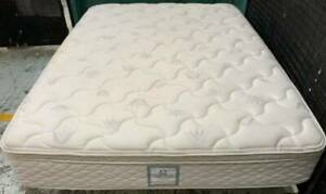 Excellent Sealy Brand white Pillow Top queen mattress only for sale