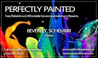 PERFECTLY PAINTED-SPECIALIZING IN REPAINTS!