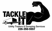 TACKLE-IT UTILITY TRAILER RENTALS AND JUNK REMOVAL SERVICES