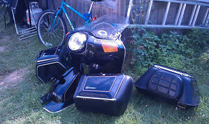 Fairing and luggage system for 1980 CX500