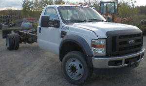 2010 FORD F550 Cab & Chassis, diesel, 16 ft