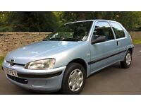 2001 Peugeot 106 Independence 1.1 3-door 67000miles 1 owner. Full service history