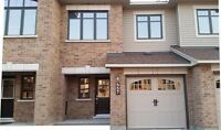 Brand new Minto 3 bedrooms townhouse Avalon Orleans