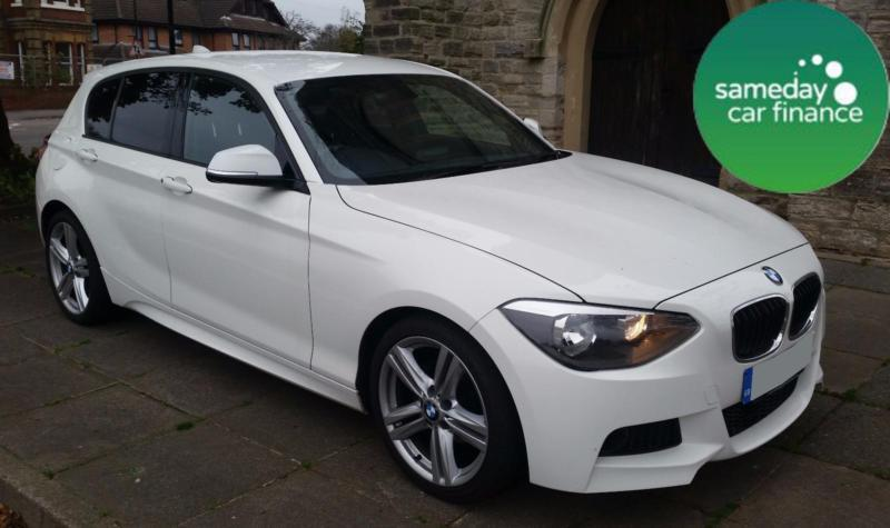 £240.10 PER MONTH WHITE 2012 BMW 118D 2.0 M SPORT 5 DOOR DIESEL MANUAL