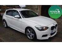 £223.01 PER MONTH STUNNING WHITE 2012 BMW 118D 2.0 M SPORT 5 DOOR DIESEL MANUAL