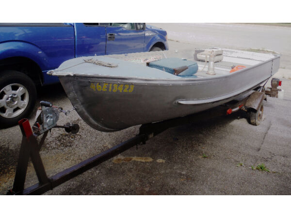 Used 1989 Other Aluminium Boat 14.5'