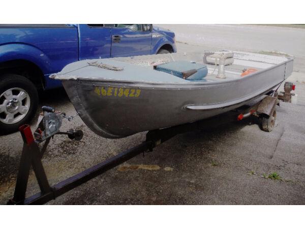 Used 1989 Other Aluminium Boat 14.5'