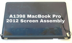 MACBOOK PRO Retina DISPLAY + COVER + LCD ASSEMBLY 2012 - 2013