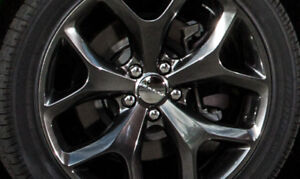 Dodge Challenger RT wheel with 245/45/R20