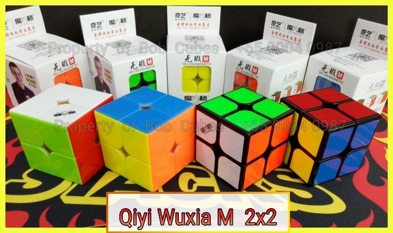 - Qiyi Wuxia M 2x2 (Magnetic) for sale   ! Brand New Speedcube !