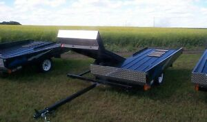 Snowmobile Trailer - Double Tilt - Norbert's