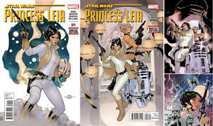 PRINCESS LEIA #1-5 complete set Marvel comics 2015 mint 1st prin