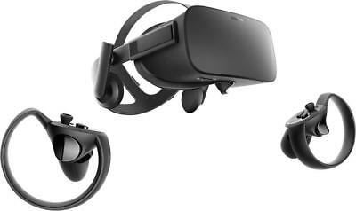 Oculus - Rift + Touch Virtual Reality Headset Bundle for Compatible Windows P...