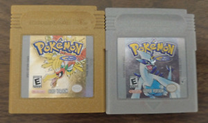 New Batteries GameBoy Color Pokemon Gold and Silver