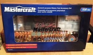 Mastercraft Rotary Tool Accessory Kit, 500 Pieces