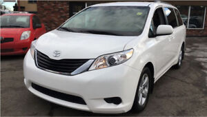 2011 Toyota Sienna, low kms, safetied, Clean title