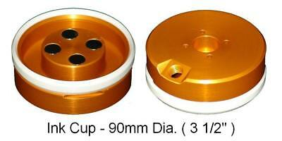Pad Printing 90mm 3.5 Ink Cup With Ceramic Ring For Pad Printer Magnetic