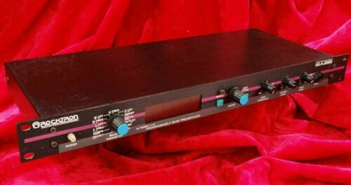 Ultra Rare Vintage ROCKTRON PROGRAMMABLE BASS Dream Machine