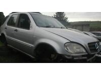 BREAKNG 2001 MERCEDES JEEP ML 270 CDI AUTOMATIC -- NO TEXTS PLEASE - NEWRY / ARMAGH ML270