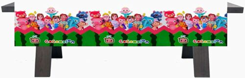 Cocomelon Birthday Party Decoration, Party Supplies,Cocomelon Tablecloth 1pc