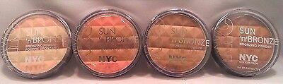 NYC Sun 'n' Bronze Bronzing Powder .42 oz BUY 2 GET 1 FREE ADD 3 TO CART Bronze 1 Bronzing Powder