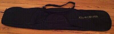 Dakine Freestyle Snowboard Ski Bag Travel Case 175 cm Black Winter Sports Gear  Ski Snowboard Travel Bags