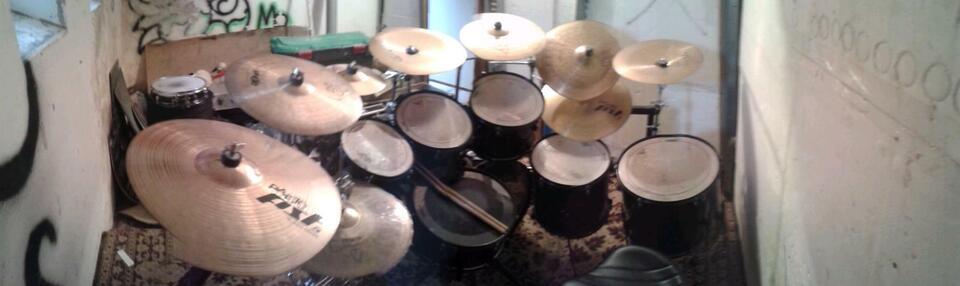 Schlagzeug Drumset Pearl in Eibenstock