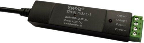 YHDC Rogowski Coil integrator TRV-01 input 100-6000A output 0.333mV/1V/3.3V AC