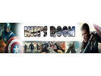 Personalized Captain America The Winter Soldier Poster 8.5x30 Glossy Banner