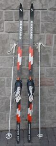 Blizzard XC cross country ski set 195 cm waxless skis made in Au