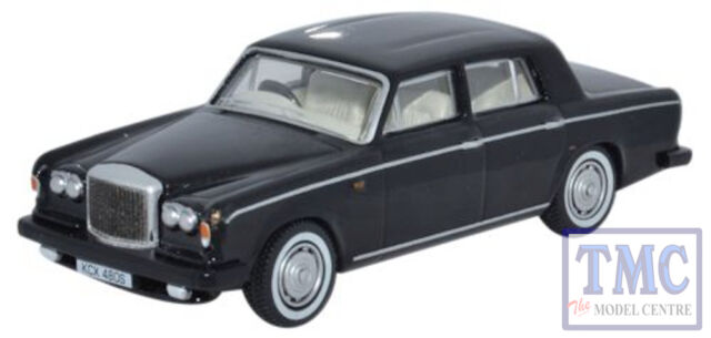 76BT2003 Oxford Diecast 1:76 Scale OO Gauge Bentley T2 Saloon Masons Black