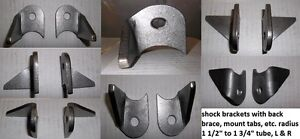 "H/D MOUNTING TAB WITH BACK BRACE, 1/4""THICK STAMPED STEEL $5.00 Belleville Belleville Area image 1"