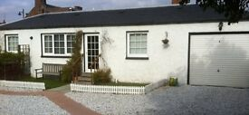 Attractive cottage furnished to a very high standard is available for short term lets.
