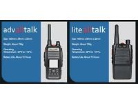 International Two Way Radio - Walkie Talkie - talk anywhere in the world without range restrictions