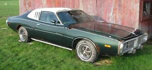 Parting out 1974 Dodge Charger SE 318 74 MoPar